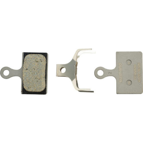 Shimano K02Ti Resin Disc Brake Pads for Flat Mount BR-R9170, BR-RS805, BR-RS505 Road Disc Calipers