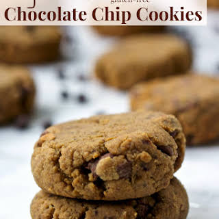 High Fiber Chocolate Chip Cookies.