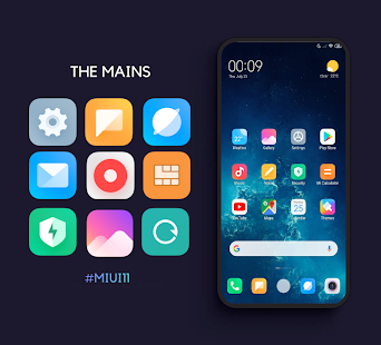 MIUI 11 Icon Pack - Pro Screenshot