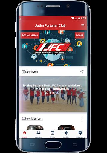 JFC Jatim Fortuner Club 1.1.1 screenshots 2