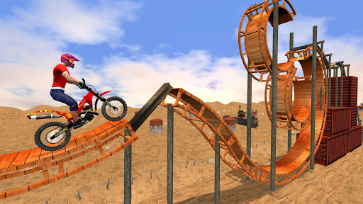 New Bike Racing Stunt 3D screenshot 15