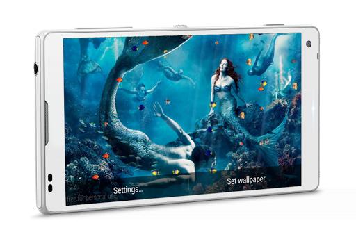 Beautiful Mermaids Wallpaper