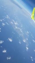 Photo: 沖永良部島が見えてきた。