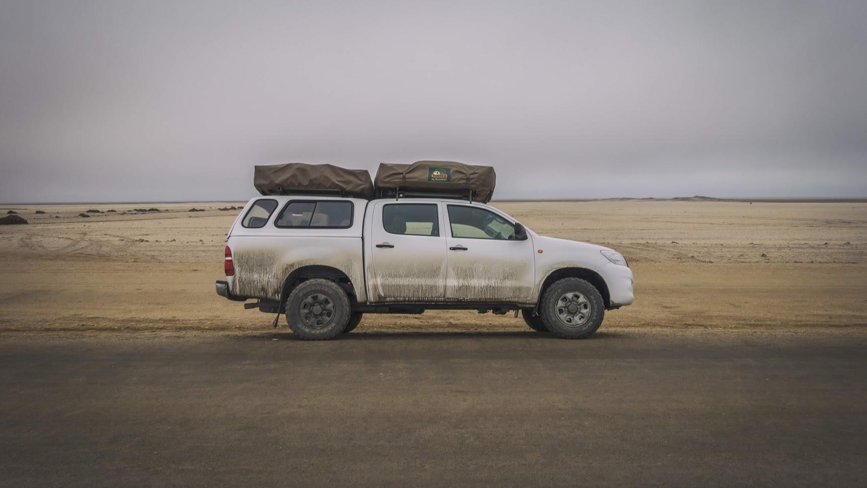 Conducir por Namibia y Botswana
