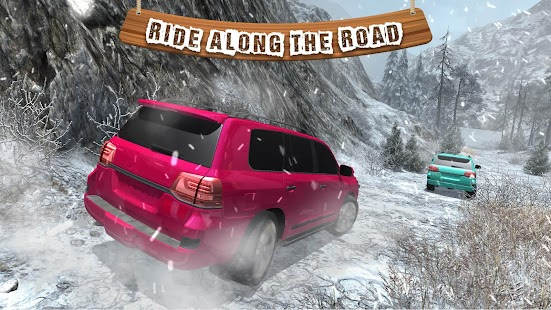 Offroad Cruiser Snow Driving- screenshot thumbnail