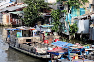 Photo: Year 2 Day 29 - Living on the River on the Way Out of Saigon #2