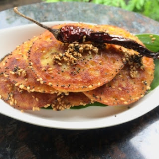 Mini Handvo or vegetable cake using OoMugi Barley