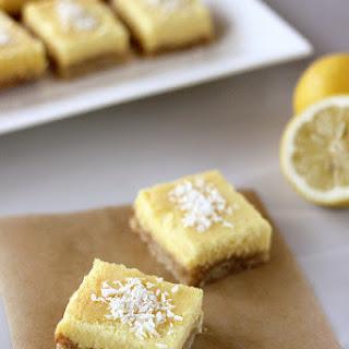 Grain-free Meyer Lemon Bars