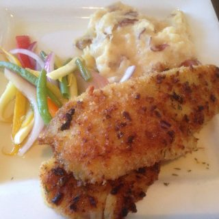 Mashed Potato Crusted Fish Recipes