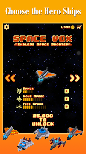 Space Vox: Endless Shooter PRO