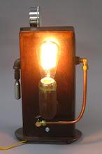 Photo: Edison Steampunk Lamp