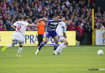 Anderlecht geeft zege en lot voor tweede plaats uit handen