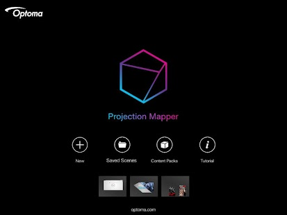 Optoma Projection Mapper- screenshot thumbnail