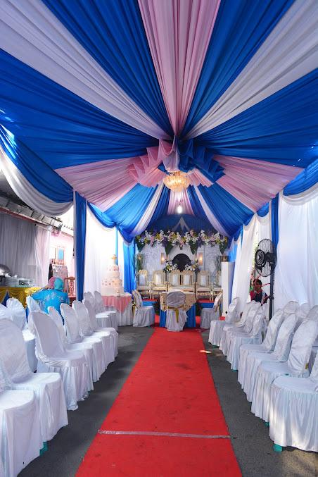 Tenda resepsi dan pesta pernikahan dirumah