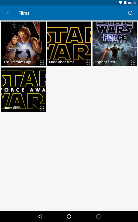 FANDOM for: Star Wars: captura de pantalla