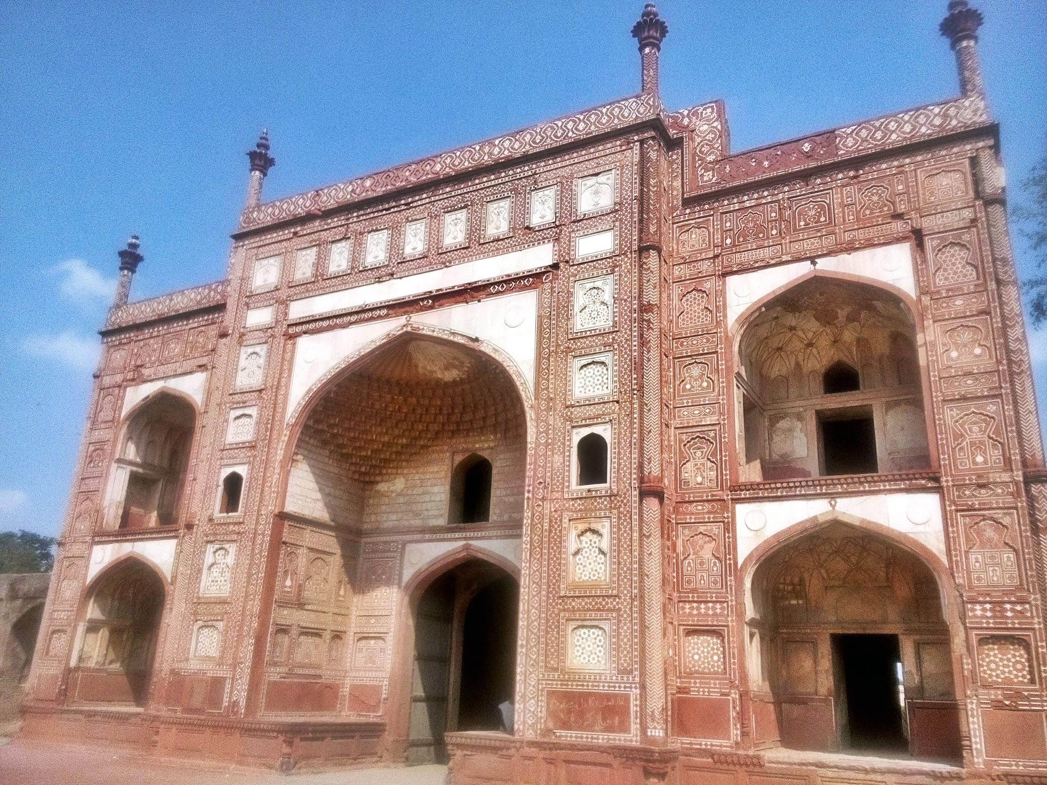 Gate towards Jehangir's Tomb