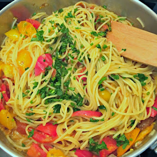 Heirloom Tomato Angel Hair Pasta