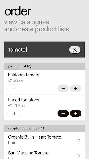 REKKI: the ordering app for chefs screenshot 3
