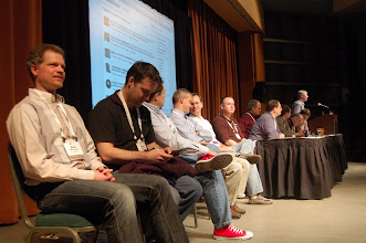 Photo: PMC Panel at EclipseCon 2009