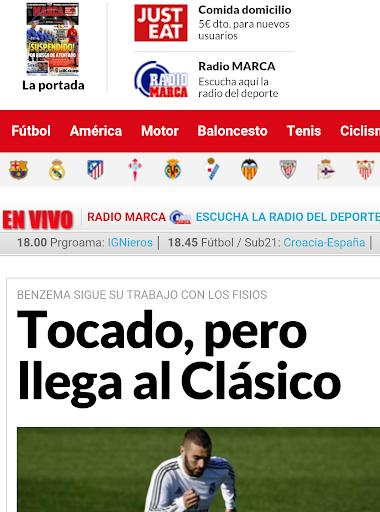sport Espagnol: Marca AS....