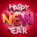 2021 New Year Greetings icon