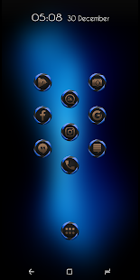 Spherized Blue Icon Pack - náhled