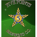 Logo for 5 Points Brewing