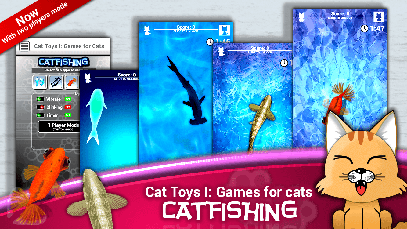 Cat Toys I: Games for Cats- screenshot