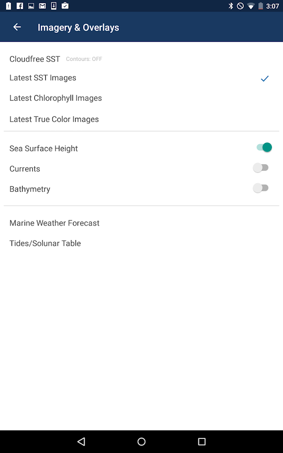 FishTrack - Fishing Charts- screenshot