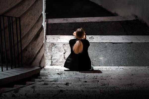 Notte solitaria di adimar