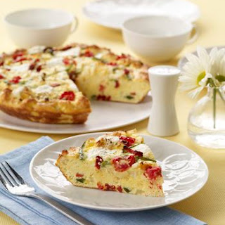 Baked Egg White Frittata Recipes.