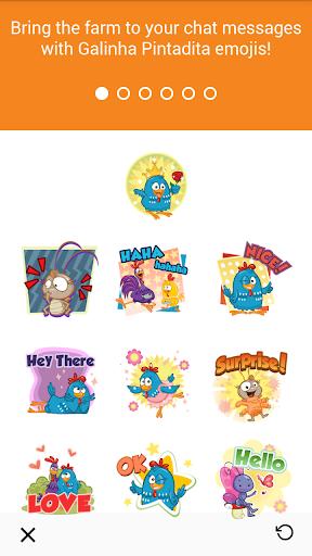 Lottie Dottie Chicken Emoji