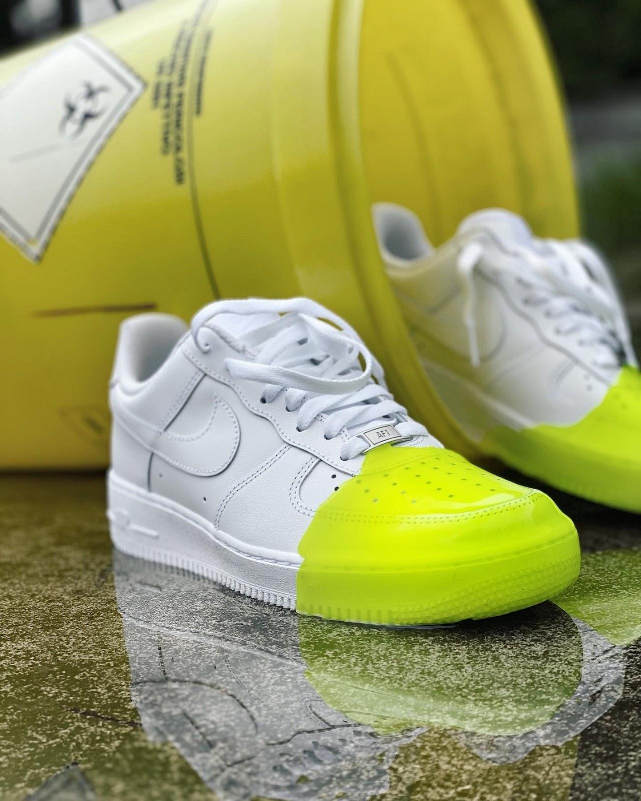 effetto slime come fare su scarpe