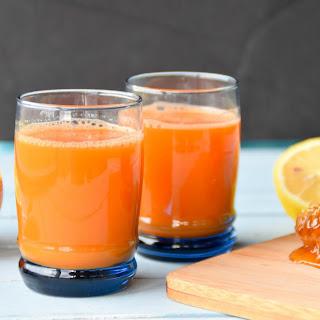 Homemade Inflammation reducing Flu Drink.