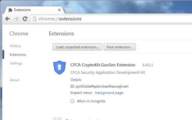 CFCA CryptoKit.GuoSen Extension