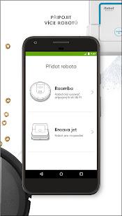 Aplikace iRobot HOME - náhled
