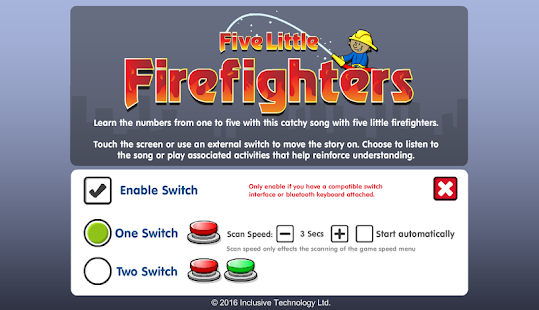 Five Little Firefighters- screenshot thumbnail