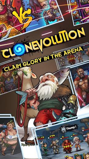 Clone Evolution: Science Fiction Idle RPG 1.1.3 screenshots 2