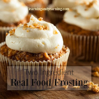 Two Ingredient Real Food Frosting Recipe
