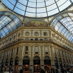 Vittorio Emanuele II Gallery in Milan by Patrizia Emiliani - Buildings & Architecture Public & Historical ( milan, gallery, italy, xix century,  )
