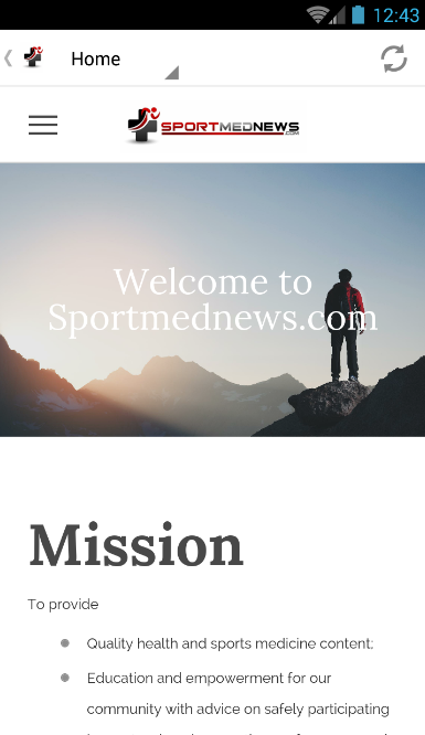 Sportmednews - Sports Medicine- screenshot