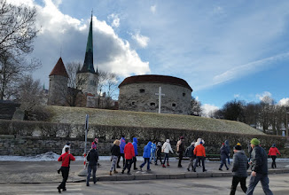 Photo: Tuesday afternoon - a conducted tour of Tallinn, with Pila