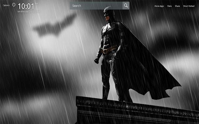 DC Batman Wallpapers Theme New Tab