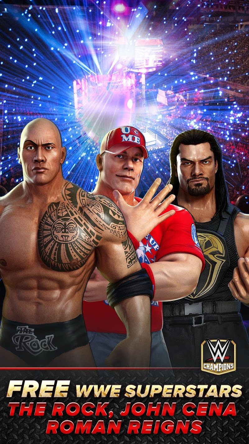 WWE Champions - Free Puzzle RPG Game Screenshot 5