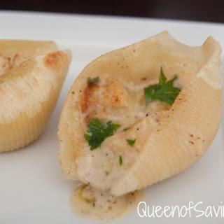 Chicken Alfredo Stuffed Shells