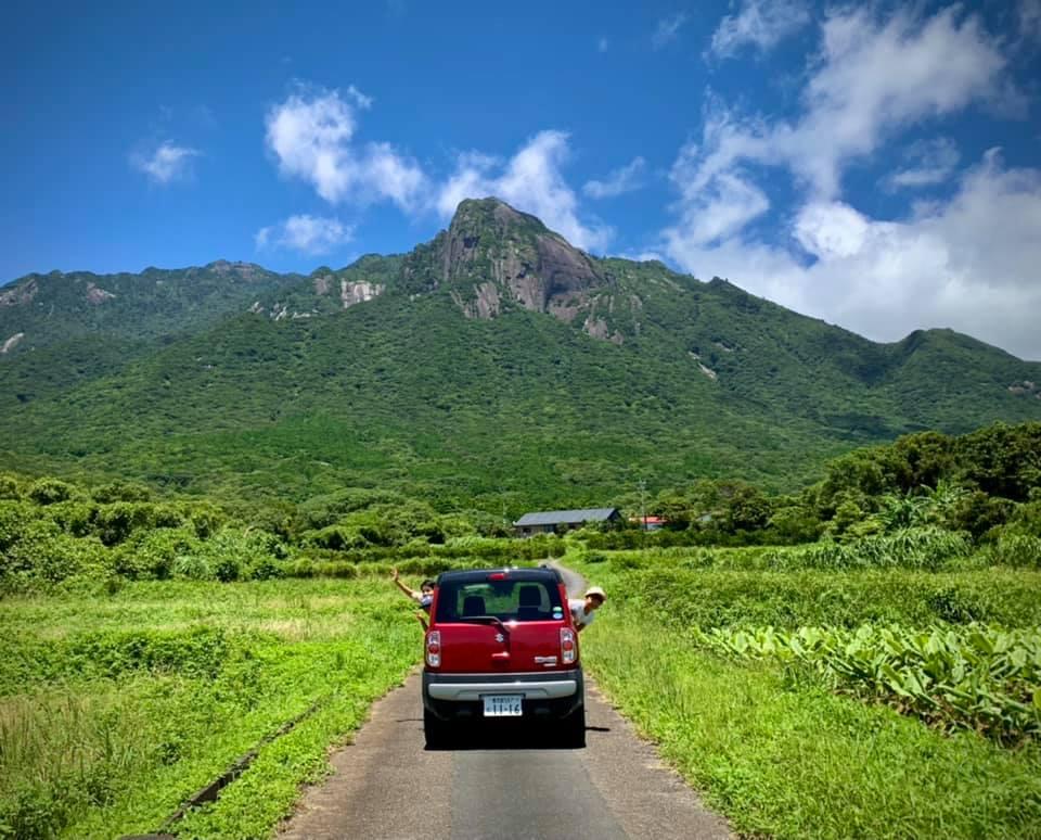 自然、道路、山の画像のようです