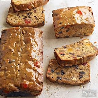Classic Fruitcake Loaves