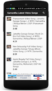 Samantha Latest Video Songs - náhled