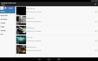 Screenshot of Video Saver for Facebook