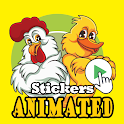 🐔 Animated Chicken Stickers for WAStickerApps 🐔 icon